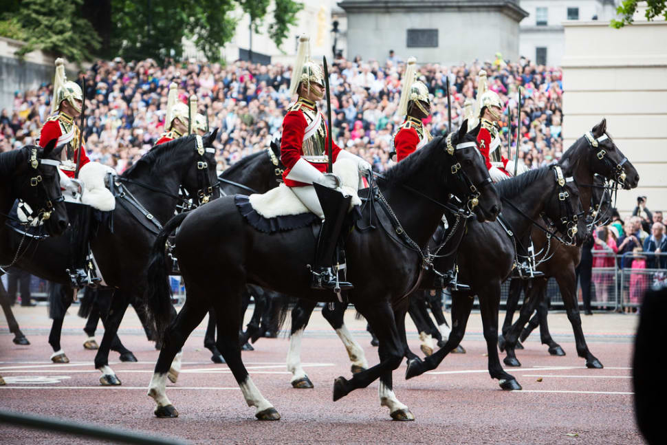Best time to see Trooping the Colour & The Queen's Birthday Parade in London
