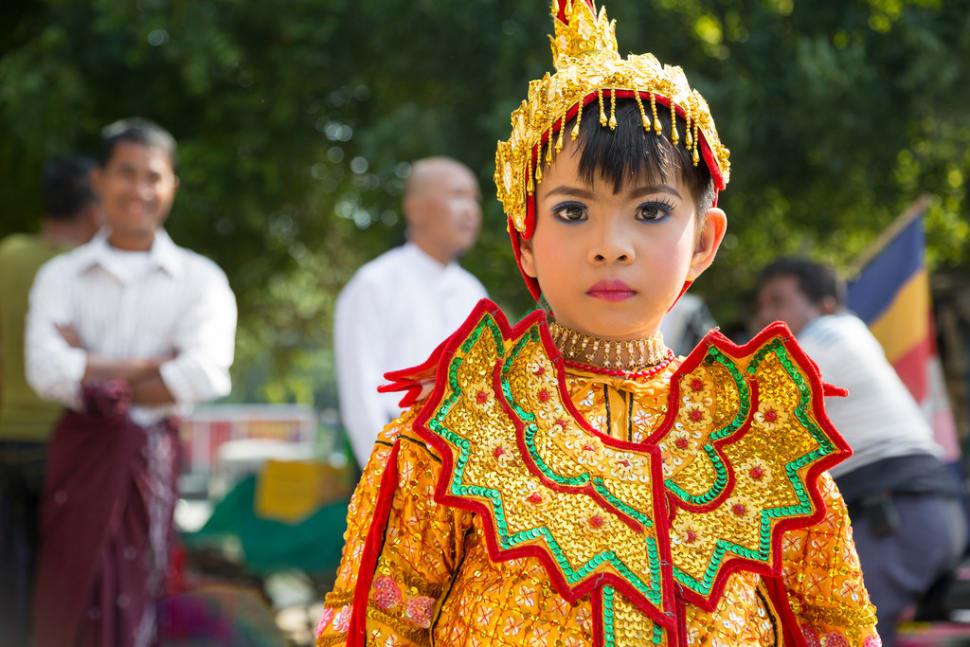 Novitiation Ceremony or Shinbyu in Myanmar - Best Season
