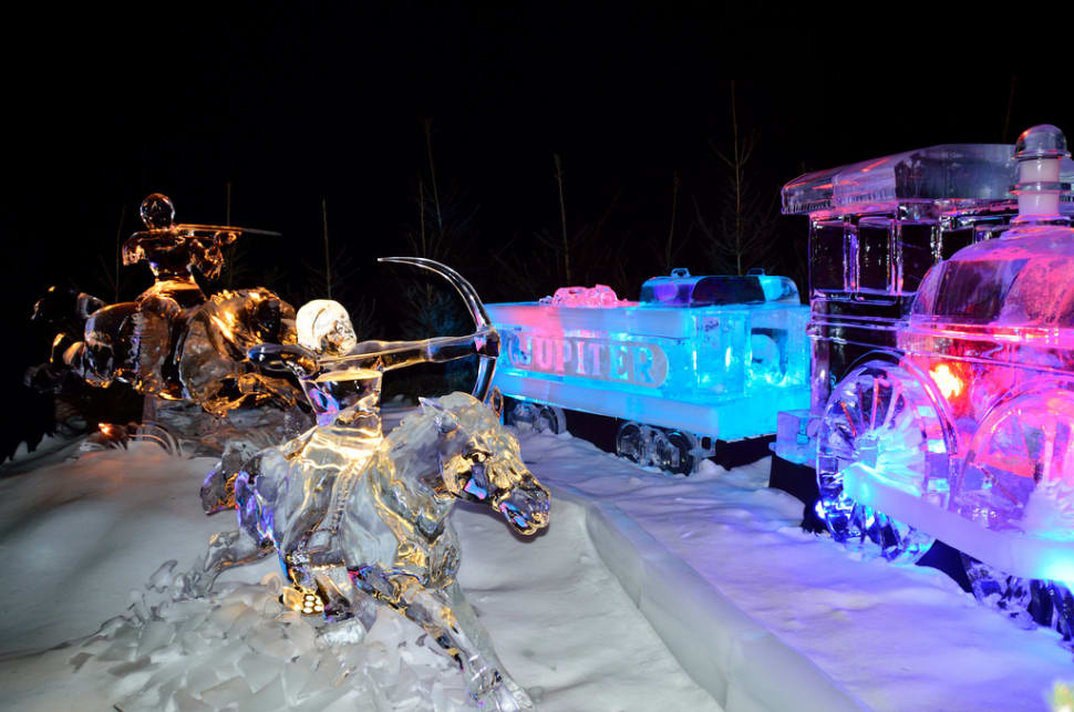 Ice Sculptures in Zwolle in The Netherlands - Best Time