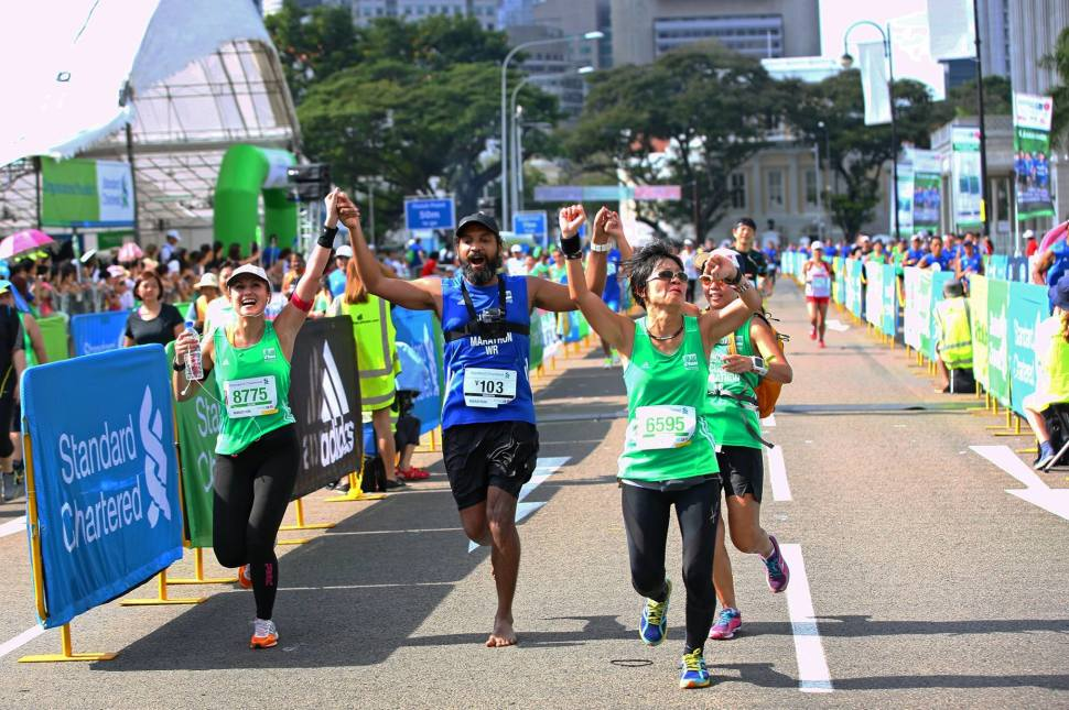 Standard Chartered Marathon Singapore in Singapore - Best Time