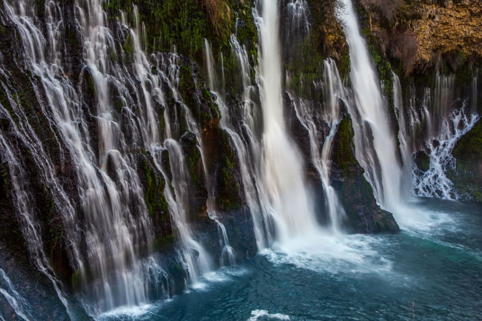 Burney Falls in California - Best Season