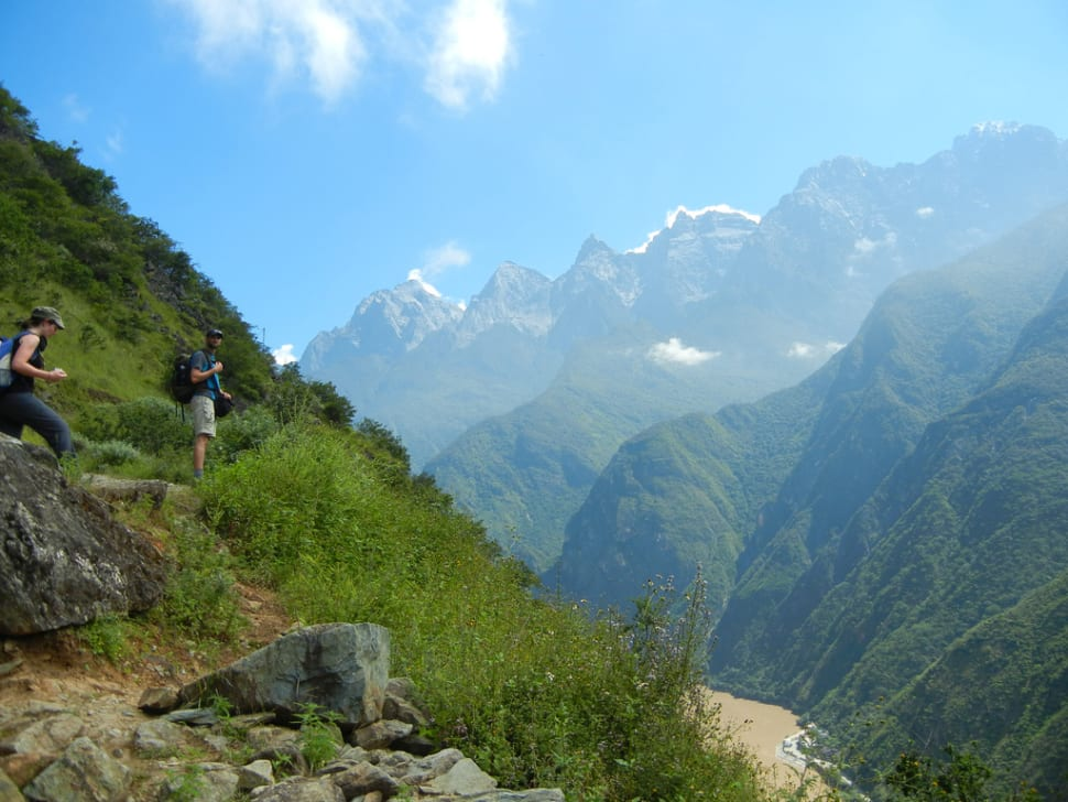 Best time for Tiger Leaping Gorge Hiking in China