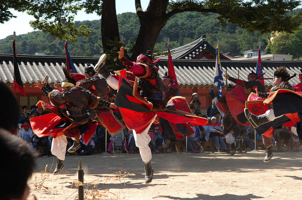 Best time for Korean Martial Arts Demonstrations in Seoul