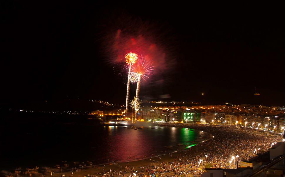 Best time to see San Juan Bonfire Festival (Noche de San Juan) in Spain