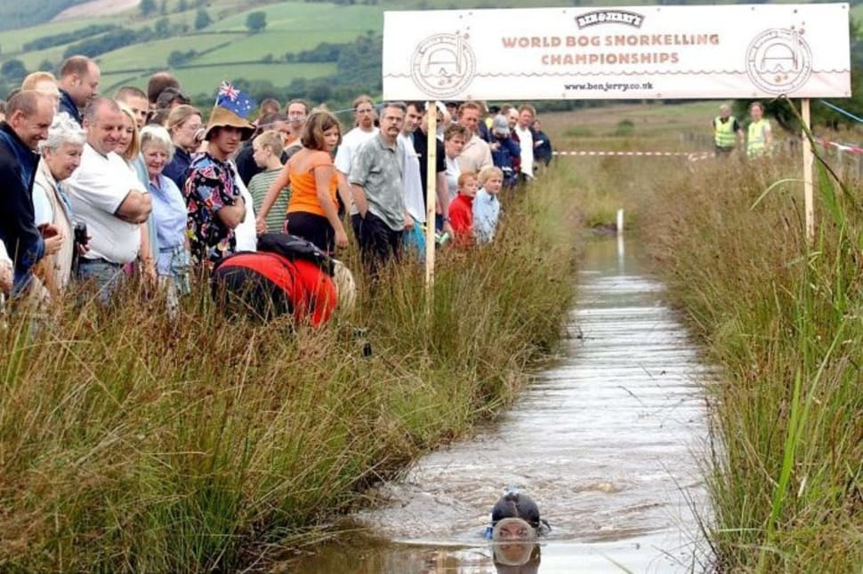 World Bog Snorkelling Championship 2018 In Wales Dates Map