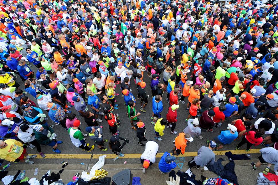 The Marathon kicks off in Staten Island