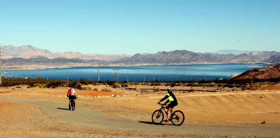 Mountain Biking around Lake Mead in Nevada - Best Season