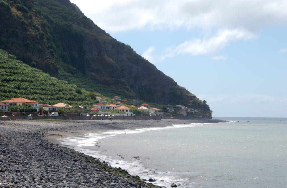 Beach near Calheta