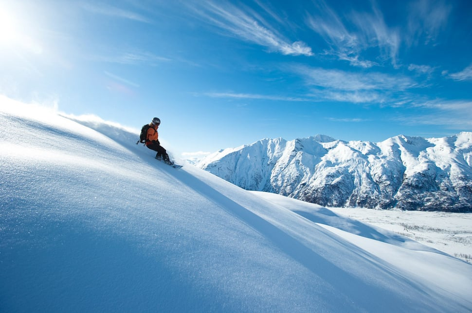 Skiing and Snowboarding in Alaska - Best Time