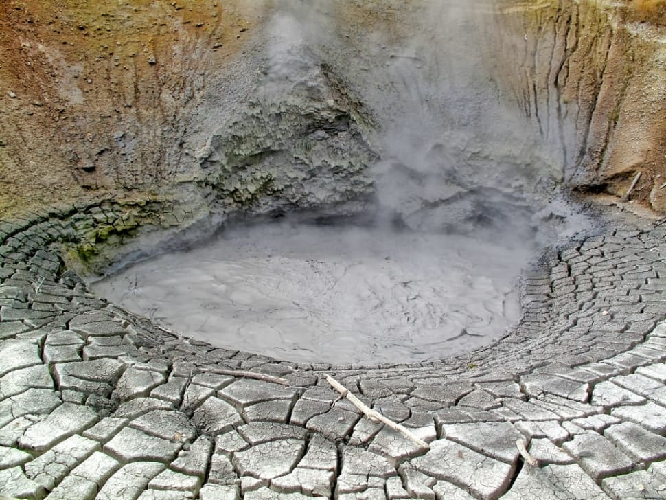 Mud Volcano in Yellowstone National Park - Best Time