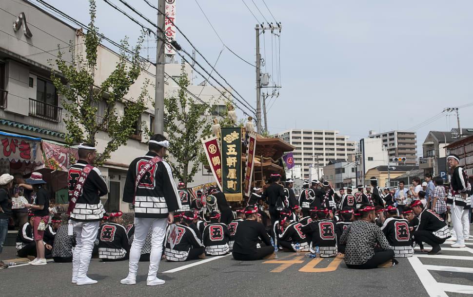 Best time for Kishiwada Danjiri Matsuri in Japan