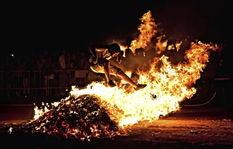 Best time for San Juan Bonfire Festival (Noche de San Juan) in Spain