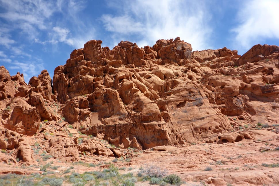 Best time for Hiking in the Valley of Fire in Nevada