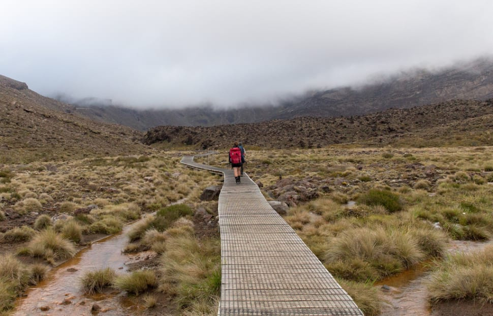 Tongariro Alpine Crossing in New Zealand - Best Season