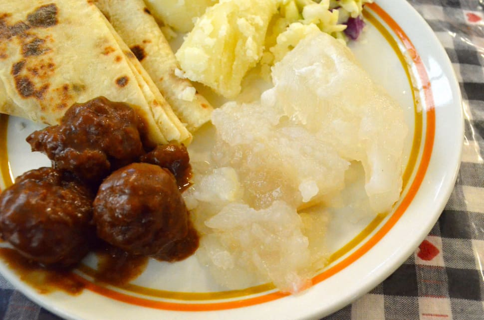 Best time for Christmas Specialties: Lutefisk and Fresh Cod in Norway