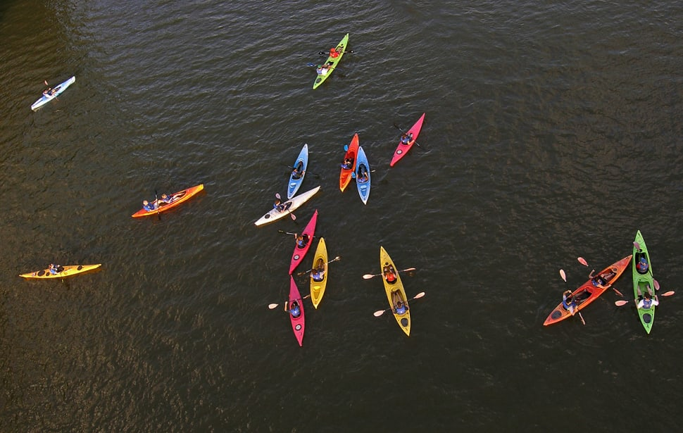 Best time for Kayaking, Paddling, and Canoeing on the Potomac in Washington, D.C.