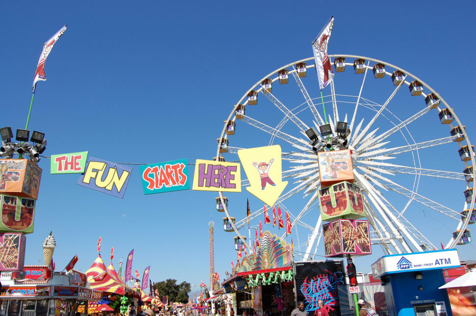 LA County Fair  in Los Angeles - Best Season