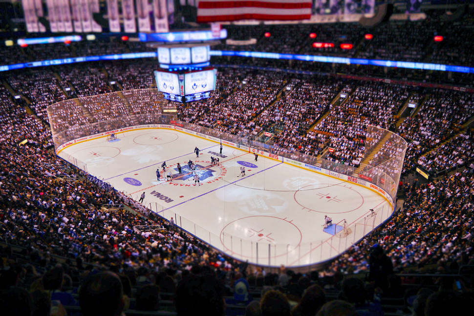 Best time for Hockey Season in Toronto