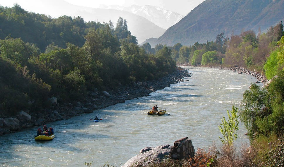 Best time to see White Water Rafting in Chile