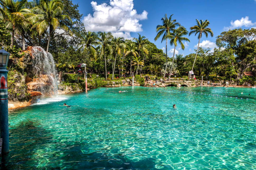 Best time for Venetian Pool, Coral Gables in Florida