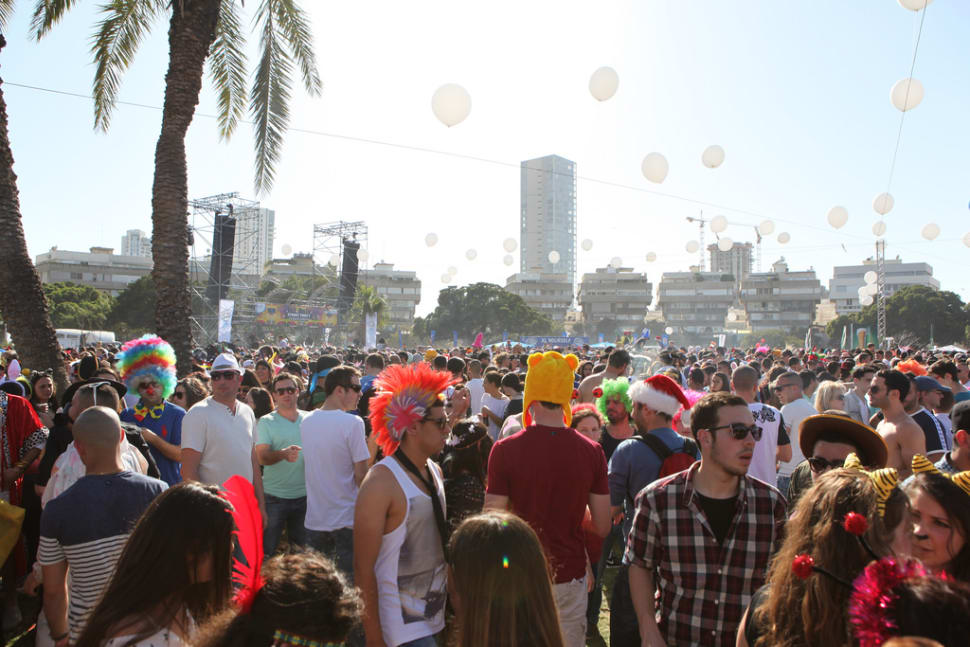 Purim Street Party in Israel - Best Time