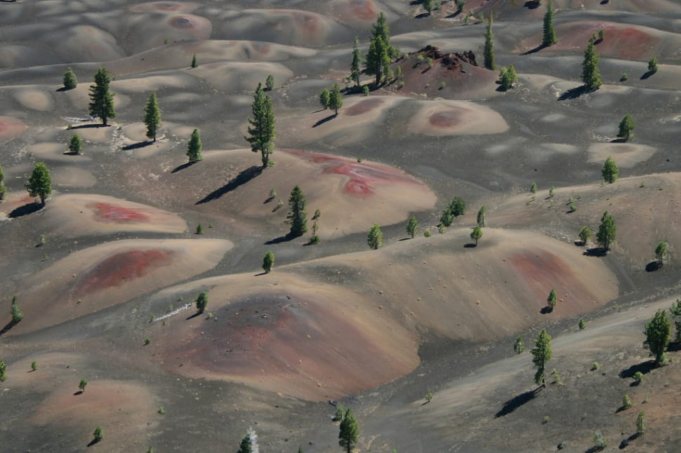 Best time for Painted Dunes in Lassen Volcanic National Park in California