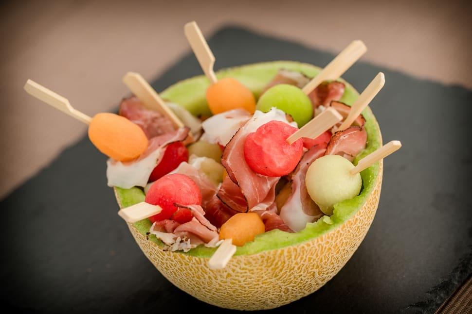 Spanish Ham with Melon in Spain - Best Season