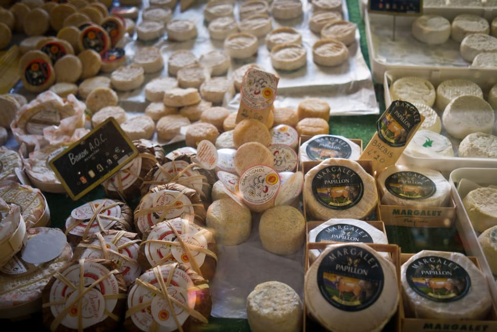 Best time for Fromage de Chèvre or Goat Cheese in Provence & French Riviera