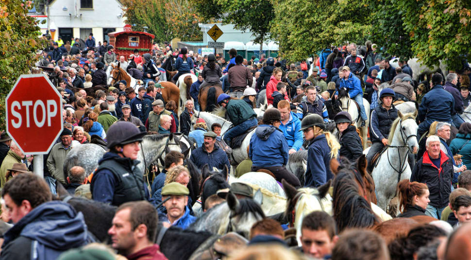 Ballinasloe Horse Fair in Ireland - Best Season