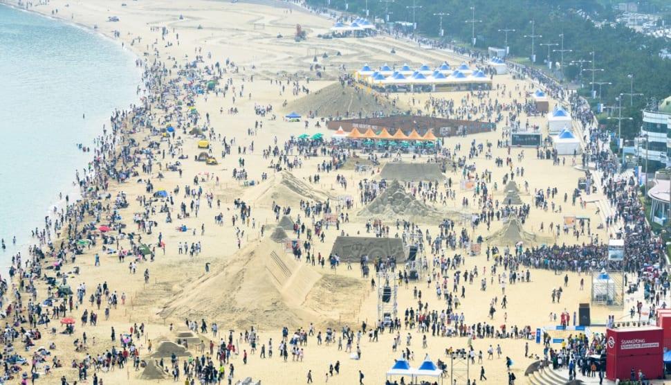 Haeundae Sand Festival in South Korea - Best Time