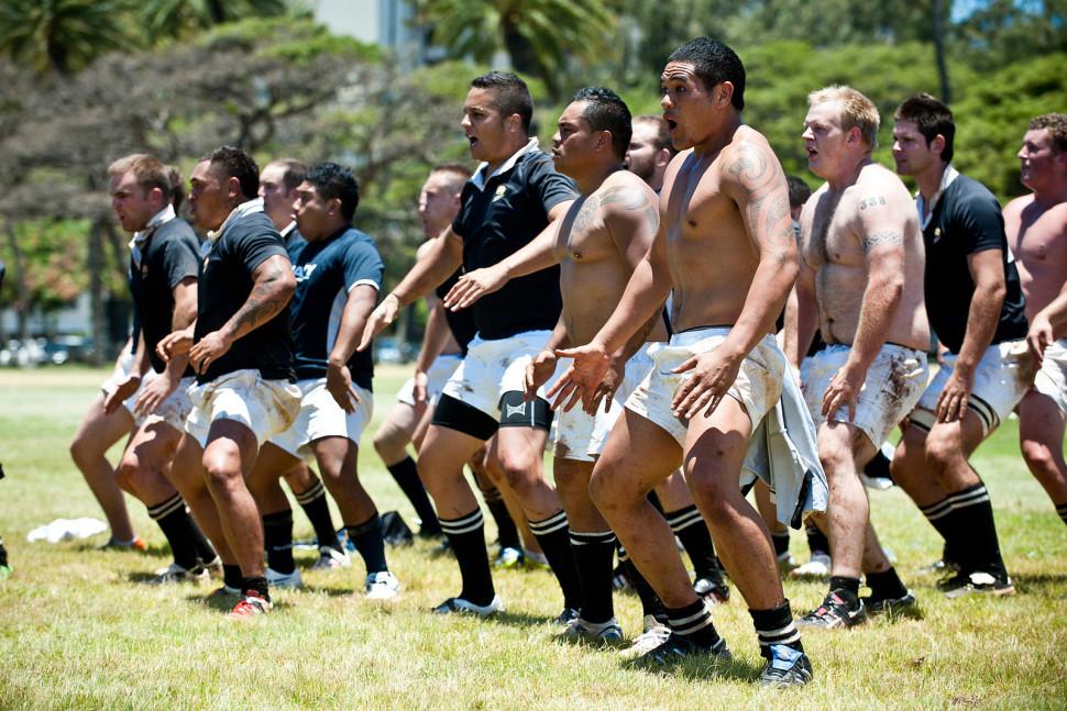 Rugby Haka