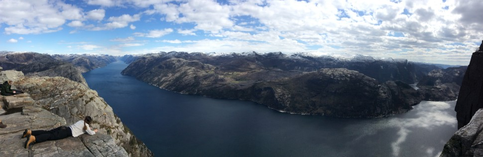 View over the Lysefjord