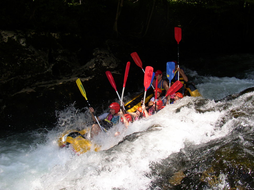 Things to do in Croatia : White Water Rafting