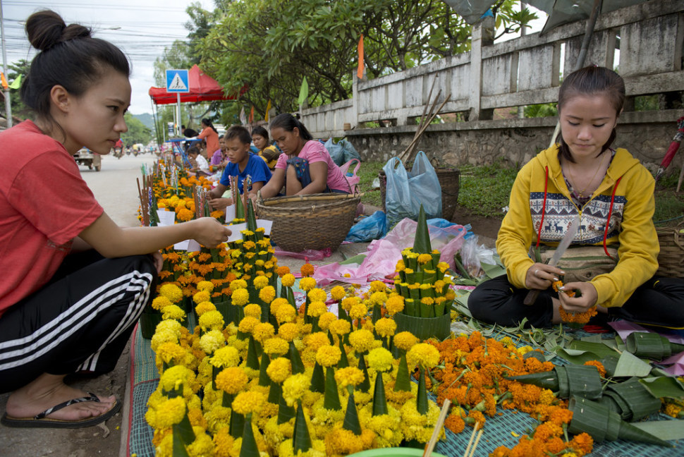 Things to do in Laos : Boun Khao Phansa or the First Day of Buddhist Lent