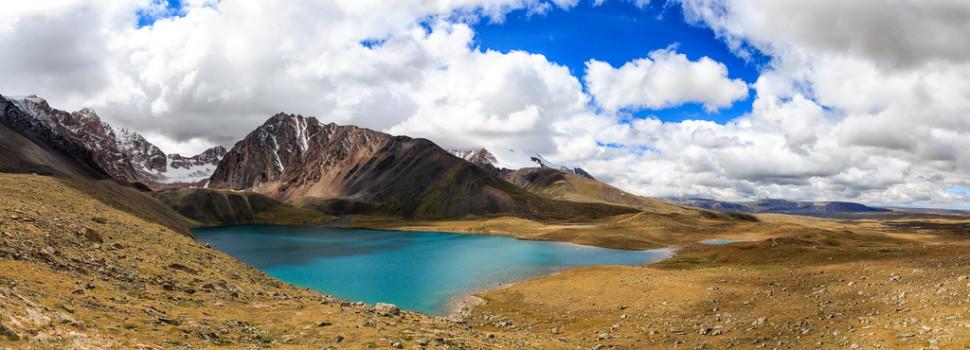 Lake in Uvs Province