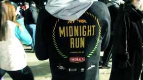 Nueva York Runners de la carretera de la medianoche
