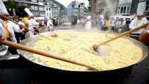 Giant Omelette in Malmedy