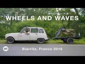 Wheels and Waves à Biarritz