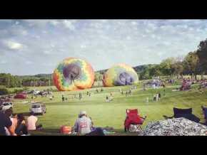 Grande Galena corrida de balão