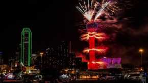 Silvester in Dallas und Fort Worth