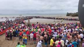 Saundersfoot New Years Day Swim