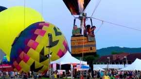Das Nordostballon-Festival