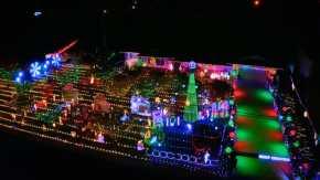 Luzes de Natal em San José