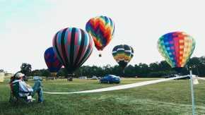 Festival de balão de ar quente em Callaway Gardens
