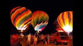Festival de globos de aire caliente del suroeste de Louisiana