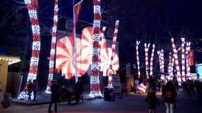 Luzes de Natal em Illinois