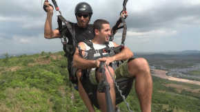 Paragliding in Sihanoukville