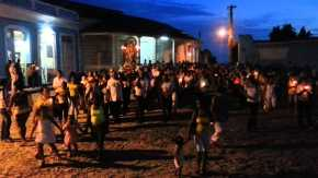 Easter Cross Procession in Trinidad