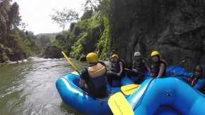 Rafting aux eaux vives