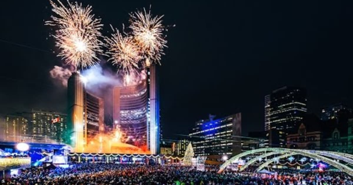 New Year's Eve 2020-2021 in Toronto - Dates & Map